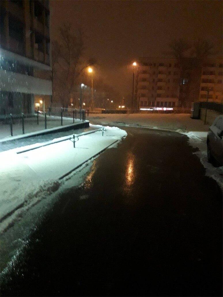 Odśnieżanie ulic Krakowa