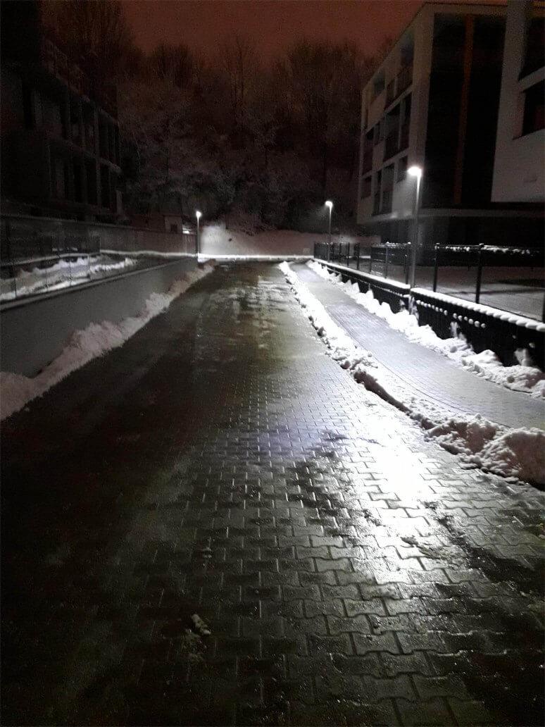Odśnieżanie osiedli Krakaków