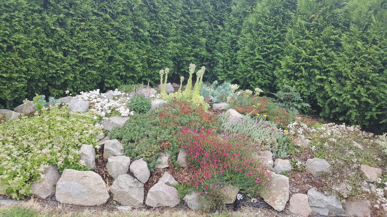 Utrzymania terenów ogrodów