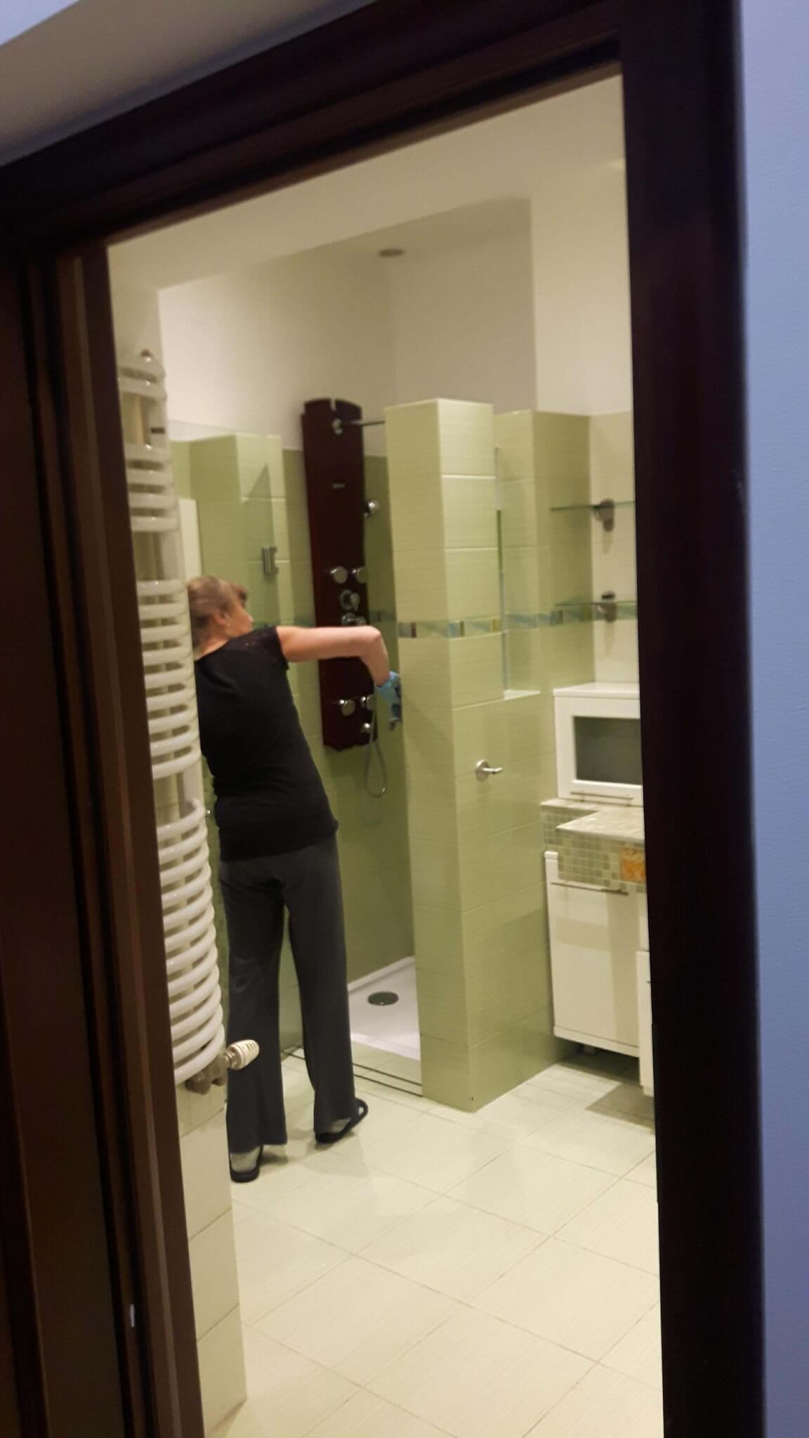 Sprzątanie toalet