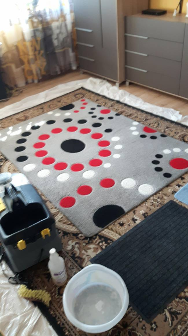 Pranie tapicerek i dywanów