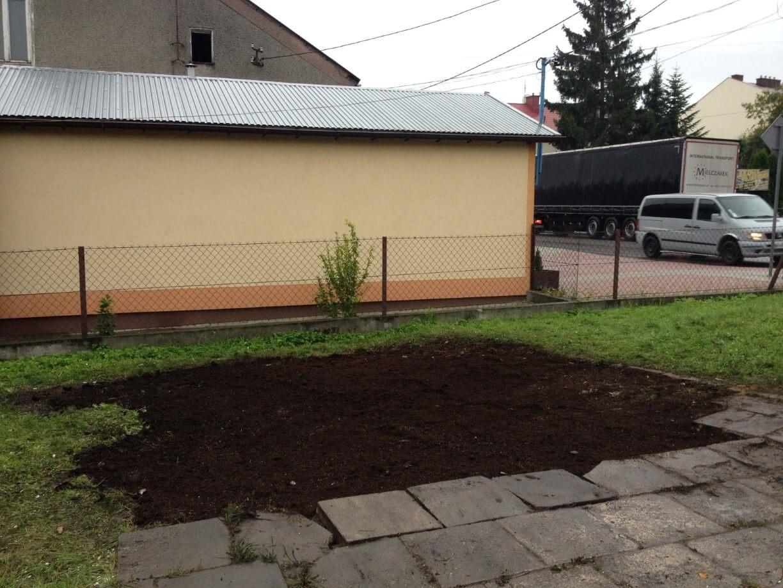 Usługi remontowe z zakresu utrzymania czystości terenu